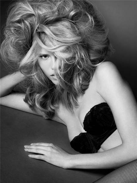 lara stone hair editorial