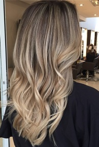 bronde or dark blonde hair color idea