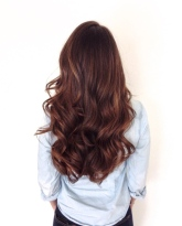 rich brunette hair color