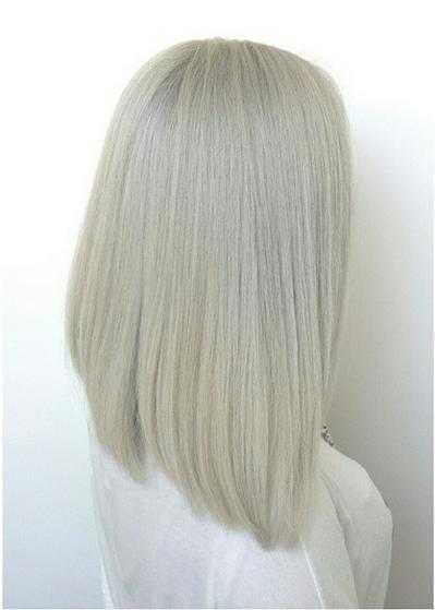 Platinum Hair Mane Interest