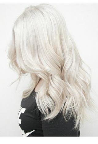 silver hair mane interest