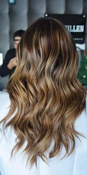Brunette Balayage Before and After | Mane Interest