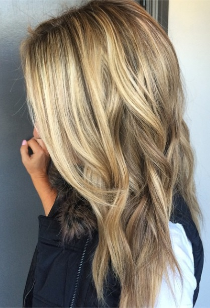 Blonde hair color chart mane interest darker blonde with highlights pmusecretfo Images