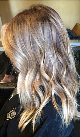 hairrrrr on pinterest blonde highlights blondes and