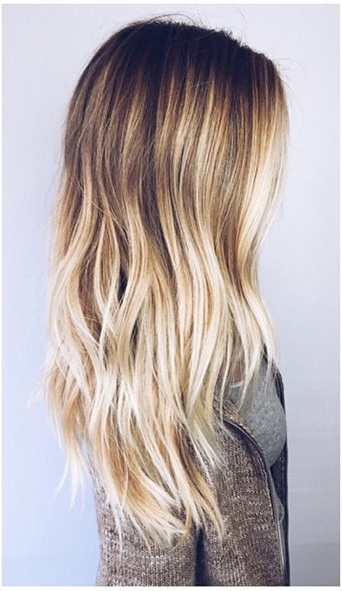 Can White Hairs Be Balayage  LONG HAIRSTYLES