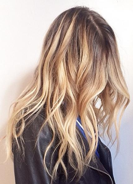 new and natural blonde highlights