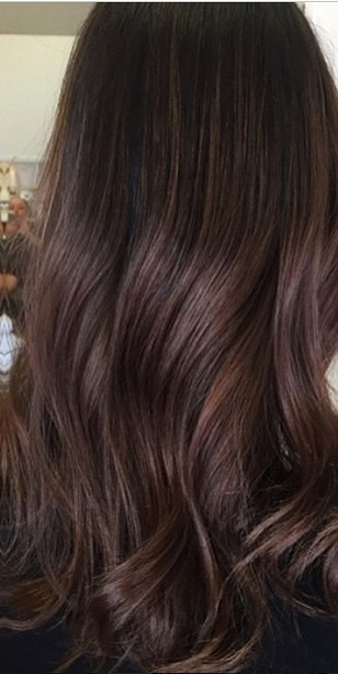 Fall hair colors for brunettes 2018