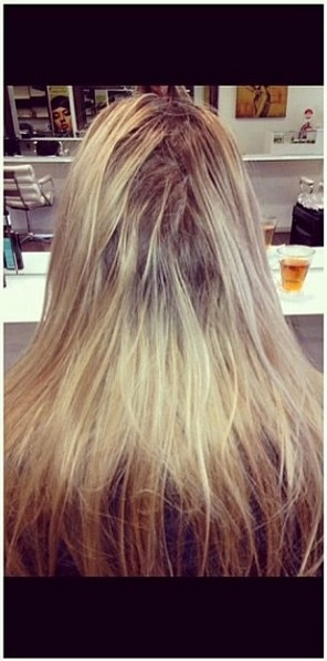 hair color before and after photos