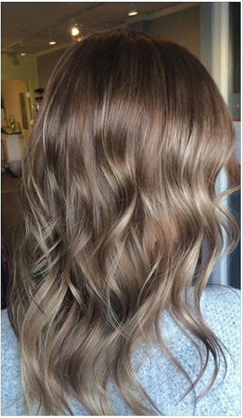 Hair trends 2015 mane interest after natural brunette hair color with highlights pmusecretfo Images