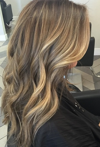 bronde hair color mane interest