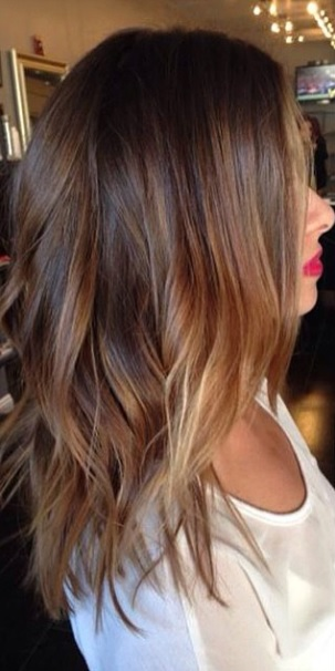 spring brunette balayage mane interest. Black Bedroom Furniture Sets. Home Design Ideas
