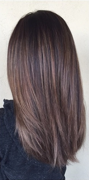 Balayage Brunette Mane Interest