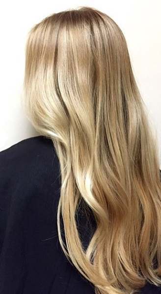 buttery blonde hair color butter and honey mane interest