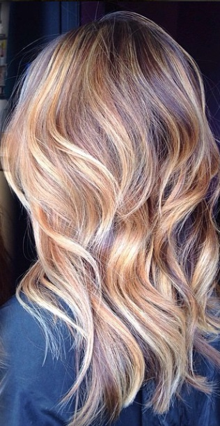 light brunette hair color