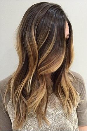 rooty brunette ombre hair color mane interest