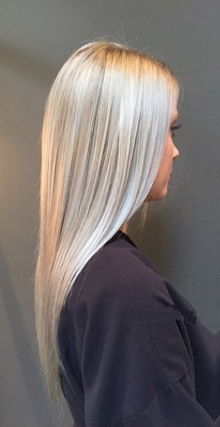 New And Now Silver Blonde Mane Interest