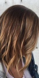 balayage brunette or bronde highlights