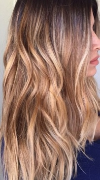 caramel bronde hair color