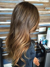 hair color ideas - blended brunette