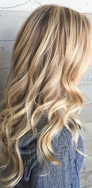 Healthy Blonde Highlights  Hair Color Ideas Blog  Mane Interest