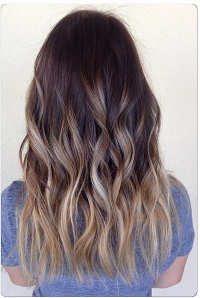 Ash Ombre And Bronde Higlights Hair Color Ideas Blog