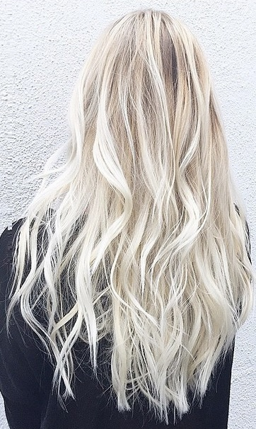 Platinum Blonde And Mermaid Hair Mane Interest