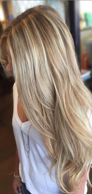 Babe Blonde Mane Interest