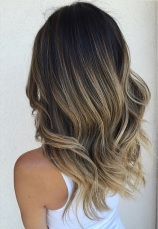 sombre aka sort of ombre brunette highlights