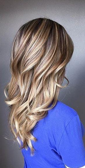 beige blonde balayage highlights
