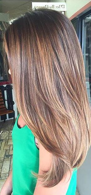 brunette hair color ideas blog brunette balayage highlights