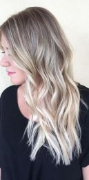 hair color trends - blonde highlights via balayage