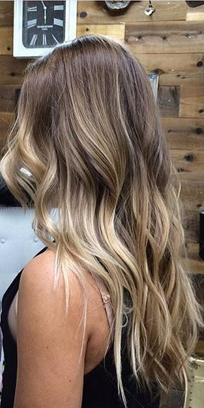 walnut ombre highlights