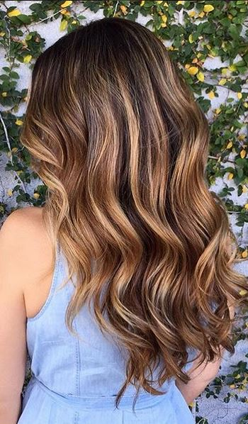 Hair color page 20 mane interest beautiful beachy brunette highlights pmusecretfo Images