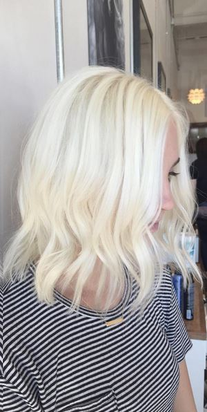 Ice Blonde Hair Color 94