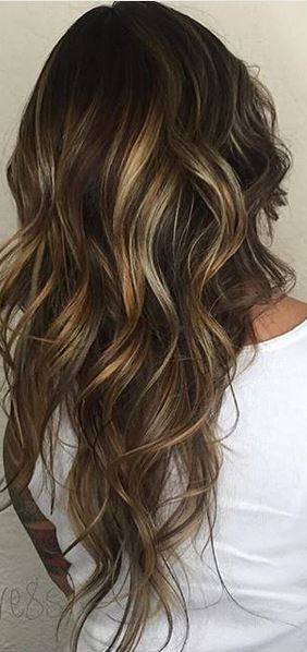 hair color envy - marbelized brunette