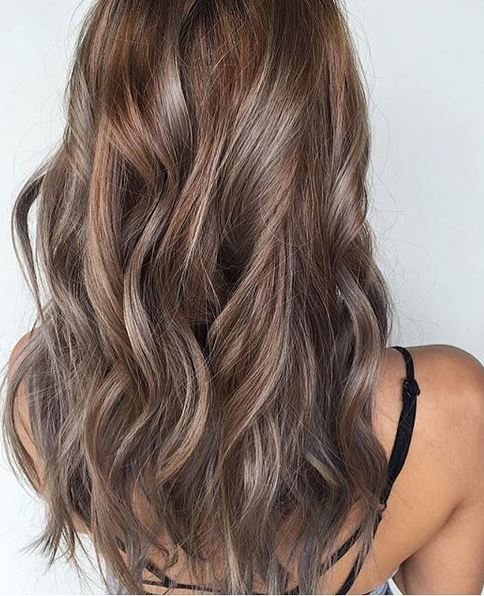 Beige And Ash Brunette Mane Interest