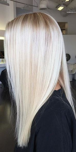 Dye Platinum Blonde Hair 54