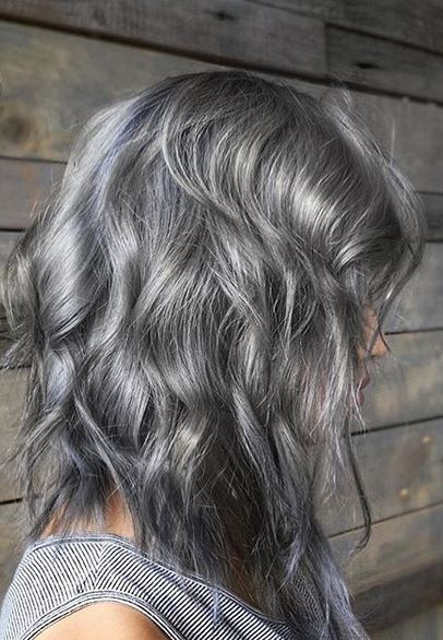 Silver Hair Color  Mane Interest