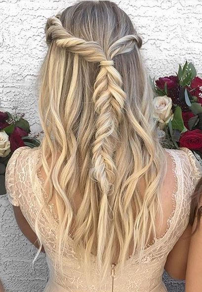 bridal hairstyle idea