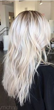 bright blonde highlights