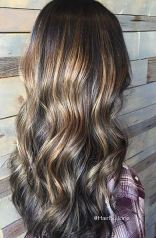 balayage brunette highlights 2016