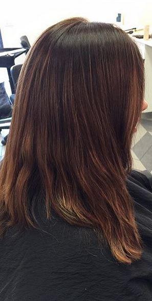 brunette hair color correction