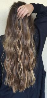 love this - balayage brunette highlights