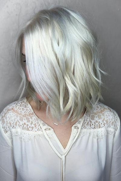 platinum silver hair