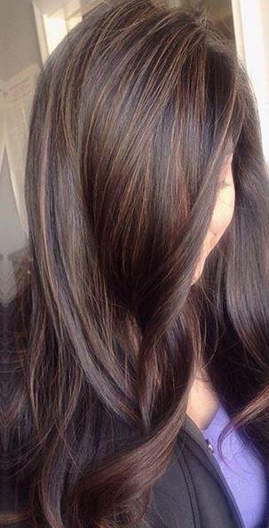 superfine brunette babylights