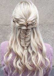love this - fishtail braid inspiration