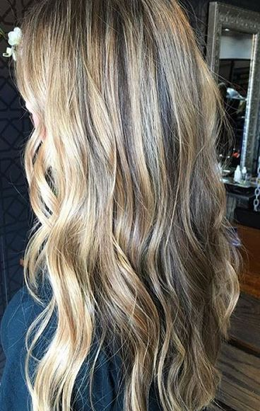 woody bronde balayage highlights - hair color to want now!