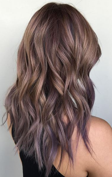 Purple hair mane interest for Cut and color ideas