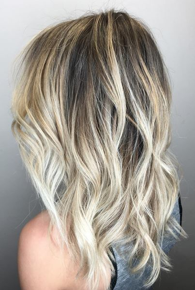 Blonde With Ash Tones  Mane Interest