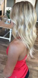 bronde to blonde ombre highlights